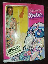 Hawaiian Barbie hawaiana Superstar era 70's 1975 Mattel #7470
