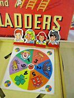 Vintage Original Chutes And Ladders Milton Bradley 1956 Board Game #4120-A (JBC