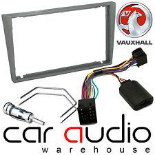 Vauxhall Corsa 2000-06 Car Stereo Radio D/Din Fascia & Steering Wheel Interface