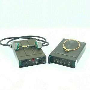 5820-12-166-4476 Mil Spec Transmitter With 5820-12-187-895 Receiver