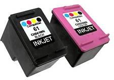2PK For HP 61 CH561WN CH562WN (New Gen) Envy 5532 5535 Deskjet 1510 3050 3050A
