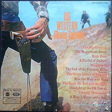 BIG WESTERN MOVIE THEMES Soundtracks LP GEOFF LOVE 1969 High Noon Stagecoach UK