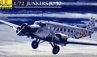 Heller Junkers Ju-52/3m Luftwaffe Flugschule Modell-Bausatz 1:72 NEU Tipp kit