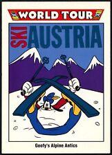 Goofy's Alpine Antics #197 Disney World Tour 1991 Impel Trade Card (C680)