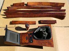 1997 2003 BMW E39 5 Series Vavona High Gloss Interior Wood Trim Set /  90K Miles