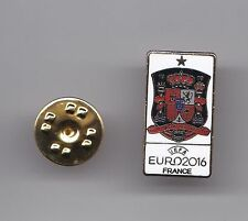 "Spain ""Euro 2016"" - lapel badge butterfly fitting"