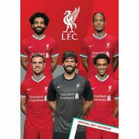 Liverpool FC Official 2021 Calendar Great Christmas Gift