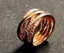 ENTWINED RING, ROSE GOLD, SIZE 50, BRAND NEW, UK SELLER.