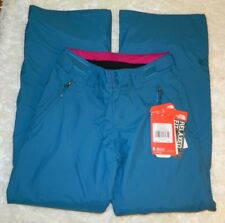 Women's The North Face Hyvent Alpine Chaleta Tri Climate Snow Pants Size XS Teal