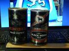 Budweiser Malt Liquor + DOW Black Horse Ale {LOT of 2} Vtg BEER CANS Ltd Brew