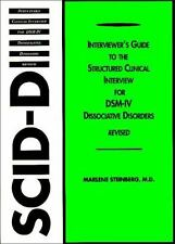 Structured Clinical Interview for DSM-IV® Dissociative Disorders (SCID-D-R)...