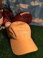 TITLEIST Golf Hat Cap OSFA Adult Adjustable Yellow  Cancer Ribbon H3