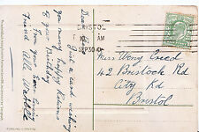 Genealogy Postcard - Family History - Creed - City Road - Bristol 199A