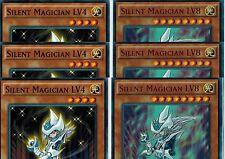 Silent Swordsman LV7 + Silent Swordsman LV5 + Silent Swordsman LV5 1st YUGIOh