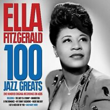 ELLA FITZGERALD - 100 JAZZ GREATS  4 CD NEUF
