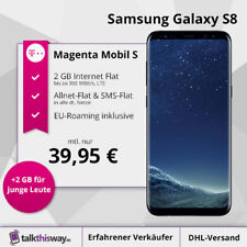 Samsung Galaxy S8 + Tarif Telekom Magenta Mobil S | Allnet-Flat | SMS-Flat | 2GB