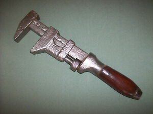Vintage Adjustable Wrench Monkey Wrench Made in USA (47)