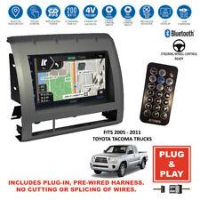 New listing Plug-In Gps Navigation Bluetooth Usb Stereo Radio for 2005-2011 Toyota Tacoma