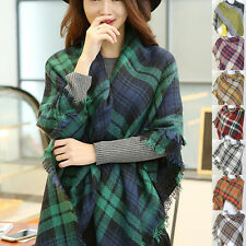 Wool Blend Plaids & Checks Scarves and Wraps for Women