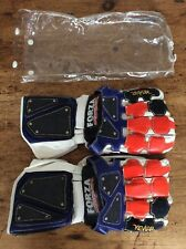 Vintage 90s Rare Forza Racing Crew Riding Concentration Motorbike  Cycle Gloves