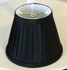 "Clip-on Black Pleated Soft Back Shades 3"" x 5"" x 4"""