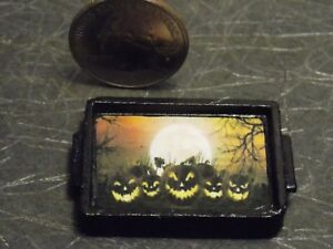 Dollhouse Miniature Halloween Serving Tray 1:12 inch scale D58 Dollys Gallery