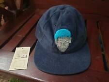 Rare vintage VTG  Dennis Rodman Blue  Hair Snapback Cap 90s