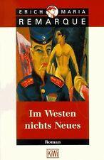 Im Westen nichts Neues: Roman. Ohne Materialien von Rema...   Buch   Zustand gut