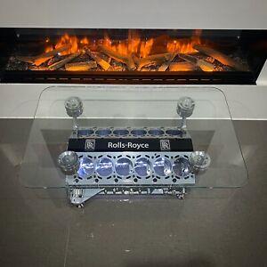 Rolls Royce / BMW V12 Engine Block Coffee Table