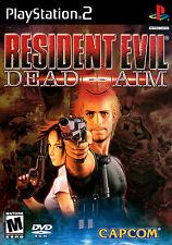 Stampa incorniciata di gioco – RESIDENT EVIL DEAD AIM PLAYSTATION 2 EDIZIONE (PICTURE ART)