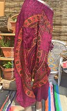 AWESOME NEW HAREM TROUSERS UK SIZE 8 10 12 14 PANTS BOHO GYPSY YOGA DREADS TOP