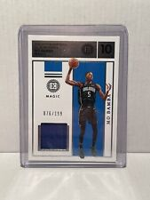 2019-20 Encased Basketball Label Materials Mo Bamba Jersey /199 2nd Year