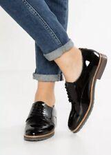 USS* Pier One Womens Lace Up Shoes Black Patent SIZE EU 40