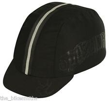 PACE Live 2 Ride Black Sport Cycling Bike Cap  w/Reflective Track Hat Fixed Gear