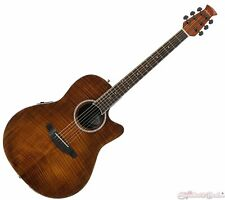 Ovation Applause Standard Exotic Acoustic Electric Guitar - Vintage Flame