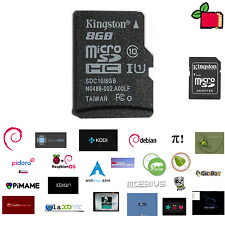 Preloaded card pre-installed - Operating System of your Choice for Raspberry Pi
