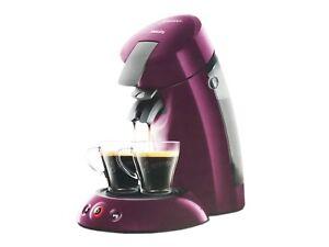 Philips Senseo Kaffeemaschine Kaffee Padmaschine Kaffeepadmaschine HD6553 Lila