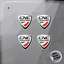 PEGATINA CNC RACING PARTS VINILO VINYL STICKER DECAL AUTOCOLLANT