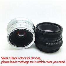 25mm F/1.8 HD MC Manual Focus Lens for Olympus M4/3 OD-M GH4 Panasonic GF1 G1 G7
