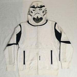 Marc Ecko Star Wars Stormtrooper Mens Hoodie Jumper | 100% Cotton | Size L Large