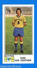 FOOTBALL 1976 BELGIO -Panini Figurina-Sticker n. 104 - VAN GOETHEM -BEVEREN-Rec