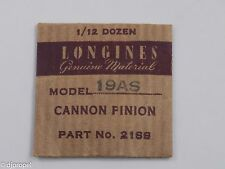 Longines Genuine Material Part #21SS Cannon Pinion for Longines Cal. 19AS