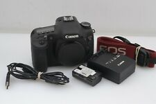 EXC++ CANON EOS 7D 18MP DSLR BODY, BATT, CHARGER, STRAP, ONLY 9963 ACTS! NICE