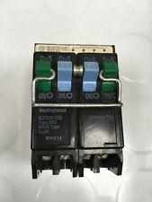 * Westinghouse 50/30 Amp 4 Pole Circuit Breaker Type Brd Bqc230250