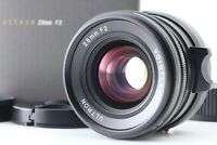 BOXED [TOP MINT ] Voigtlander Ultron 28mm F/2 MF VM Lens For Leica M From Japan