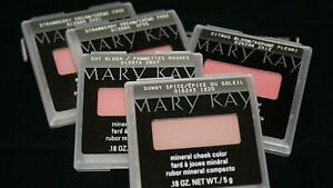 Mary Kay Mineral Cheek Color Blush - You Choose Shade - New In Original Package!
