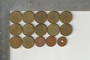 Philippines Qty 15 Coin Lot dated 2000-2009 Filipino Southeast Asia sentimo coin