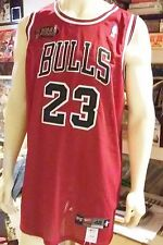 Vintage Michael Jordan Jersey Bulls Nike ~ Size 48 NBA Finals Jersey ~ 1997