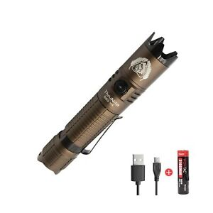 ThruNite BSS V4 Tactical Flashlight Max 2523 Lumens SST70 LED Rechargeable Fl...