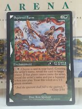 Squirrel Farm - 3rd Place Jumbo Oversized 6X9 Arena Promo Card MTG Magic Sexy